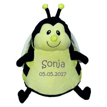 Biene bestickt auf dem Bauch